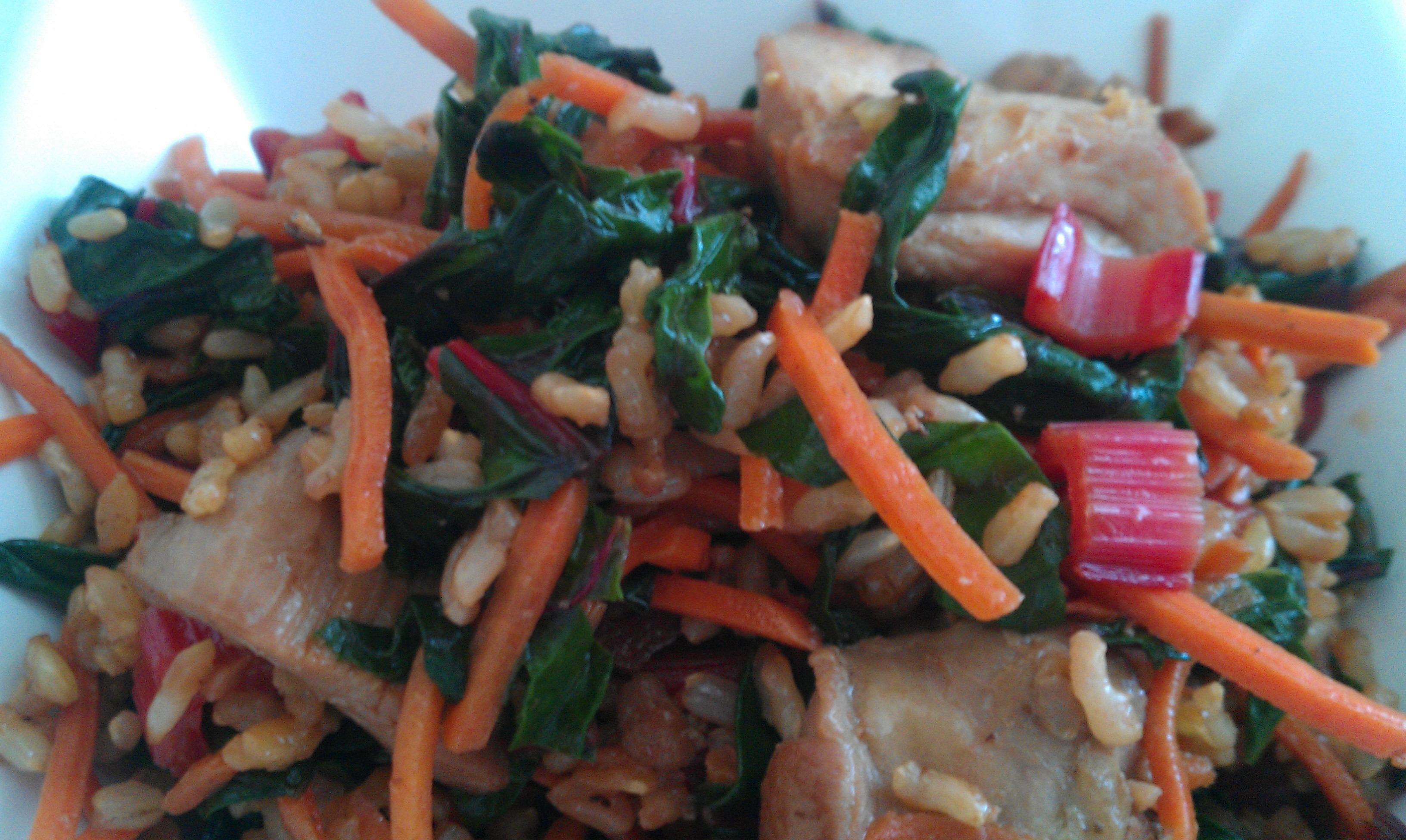 http://www.blissfulkitchenblog.com/easy-chicken-b…chard-stir-fry